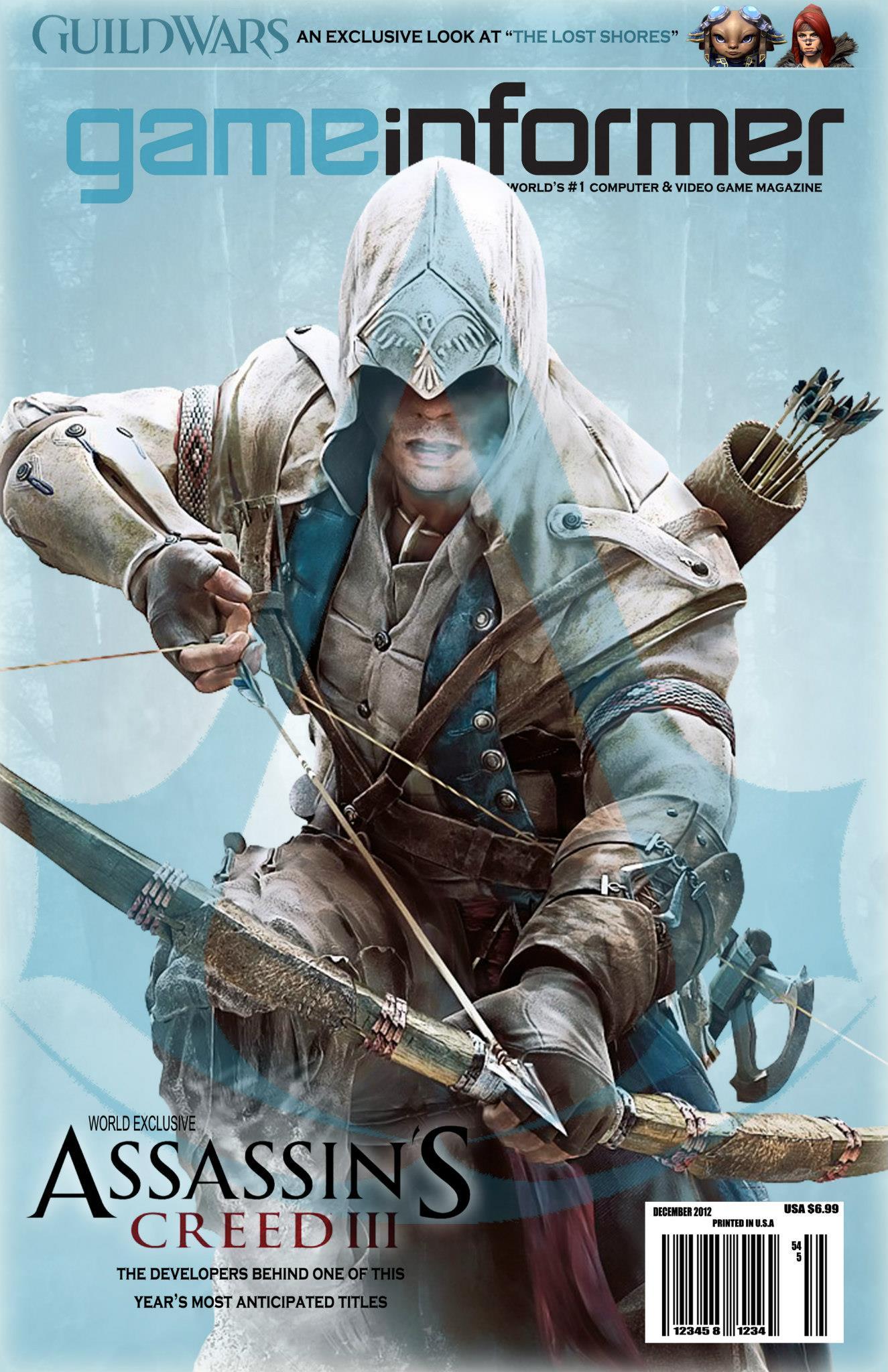 Game Informer Mock Magazine Cover By Kayfriday On Deviantart