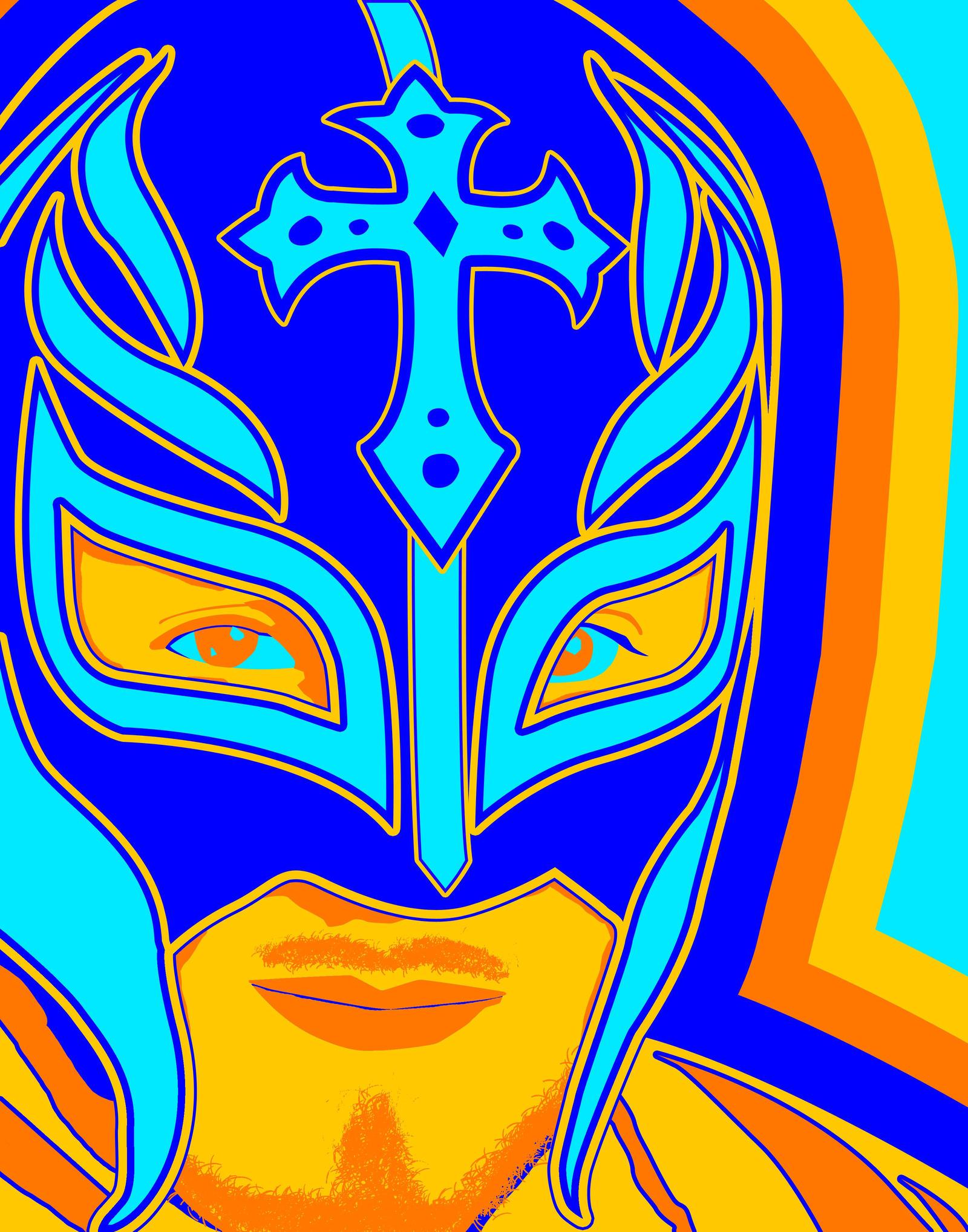 KayFriday 0 WWE Rey Mysterio