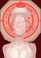 Faceless nurse SHH by ruru-raida