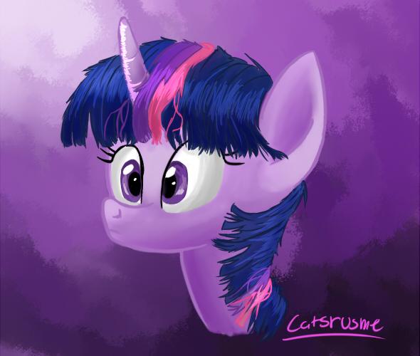 Twilight Sparkle by catsrusme