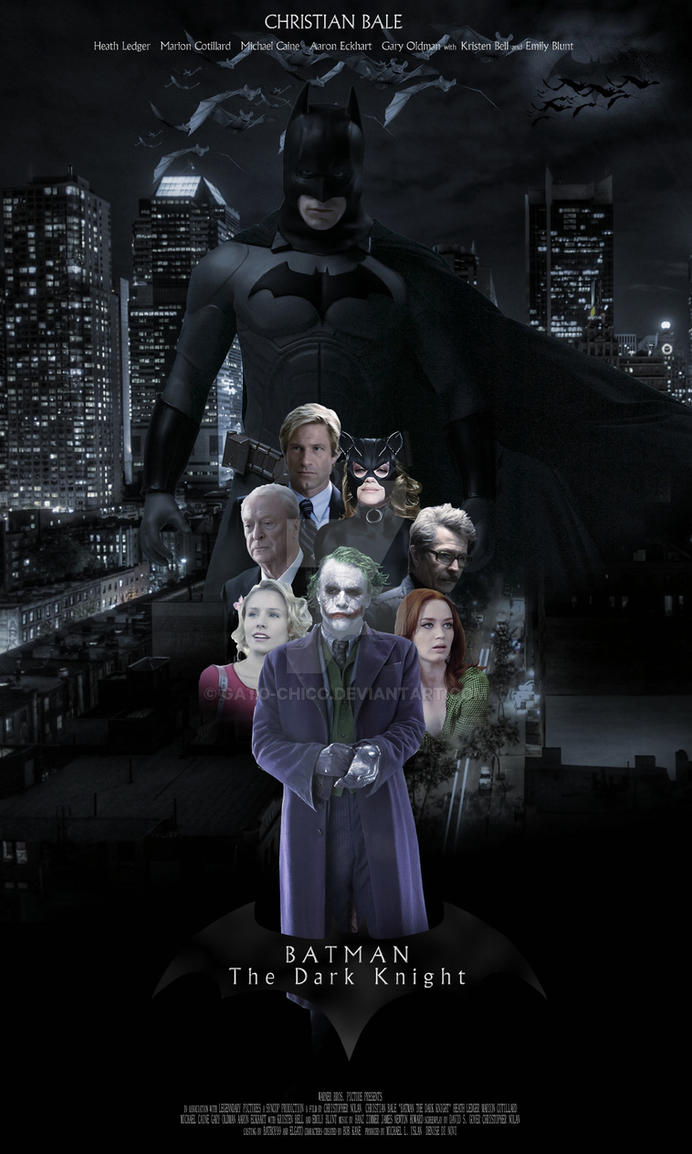 My Dream Batman Movie by Gato-Chico