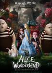 Poster- Alice in Wonderland