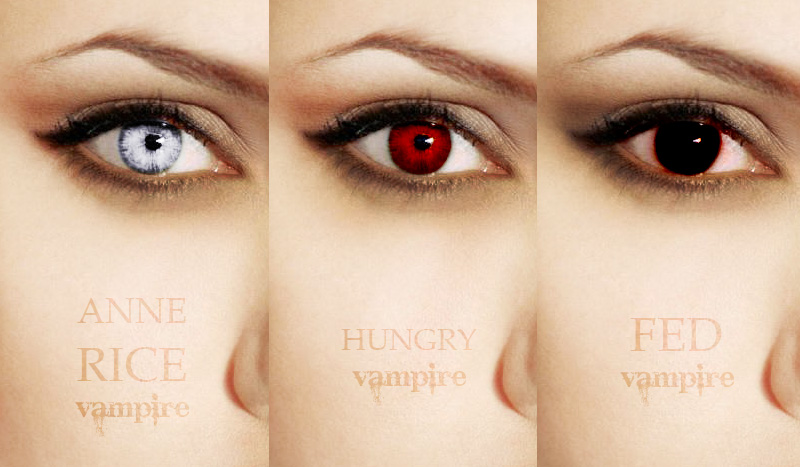 Vampire Eyes Study by Gato-Chico