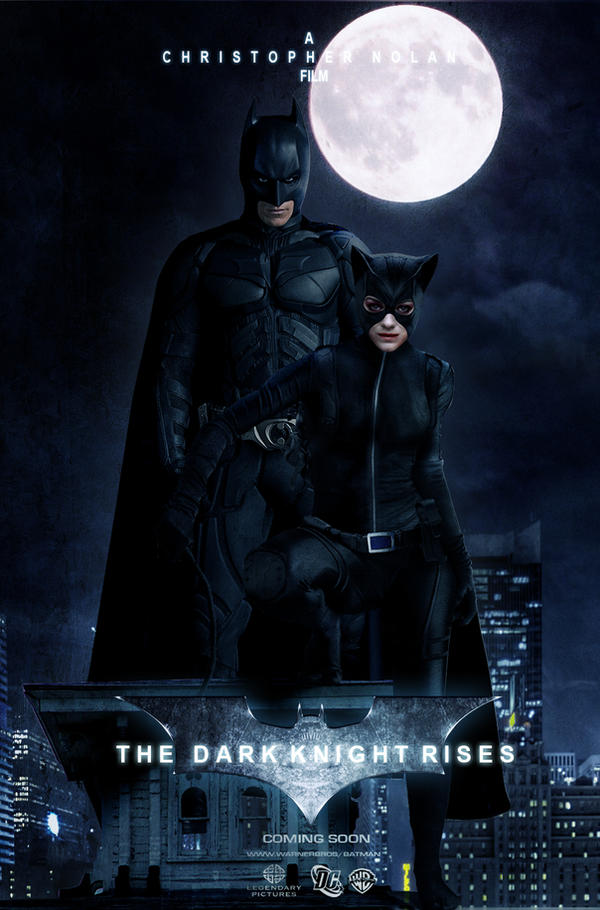 TDKR-The Bat and The Cat by Gato-Chico