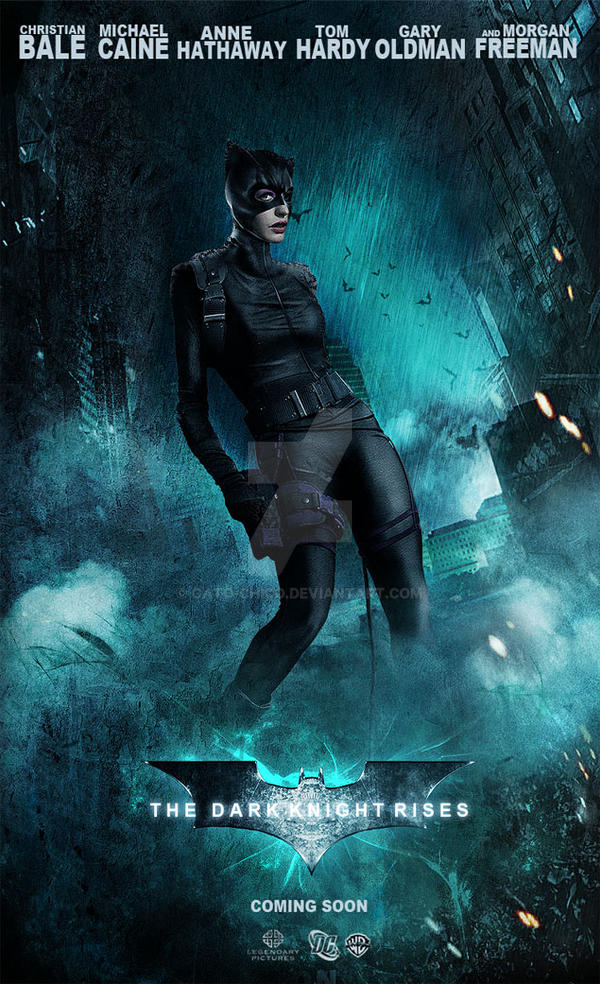Catwoman-The Dark Knight Rises by Gato-Chico