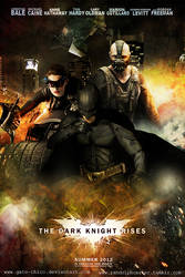 The Dark Knight Rises Movie Poster by Gato-Chico