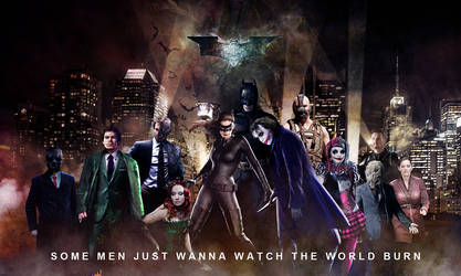 The Dark Knight Rogues Gallery by Gato-Chico