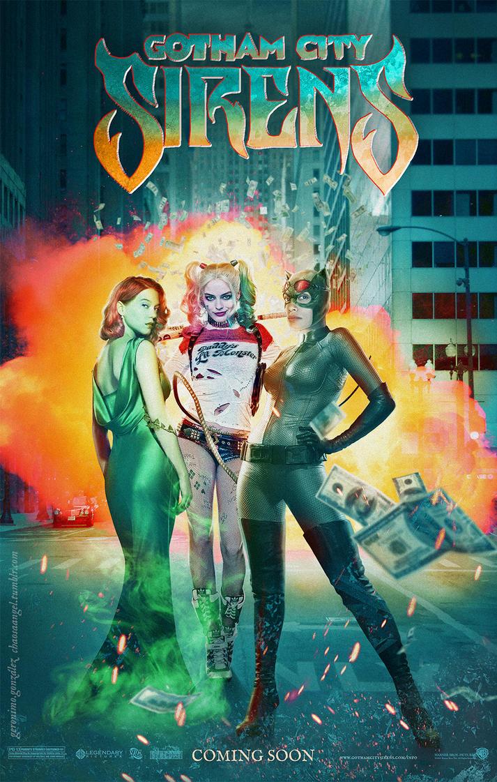 Gotham City Sirens by Gato-Chico