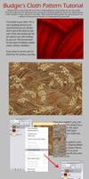 Simple Cloth Pattern Tutorial