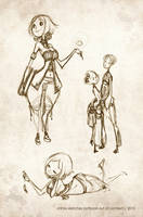 Yhihre Sketches by sambees