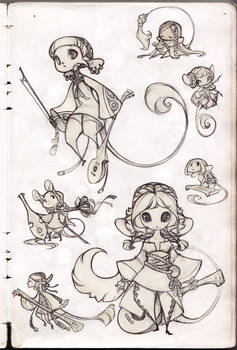 Mice Sketches