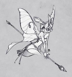 Sketch Commission: Gilaghar