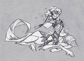 Sketch Commission: Kuriiiboh