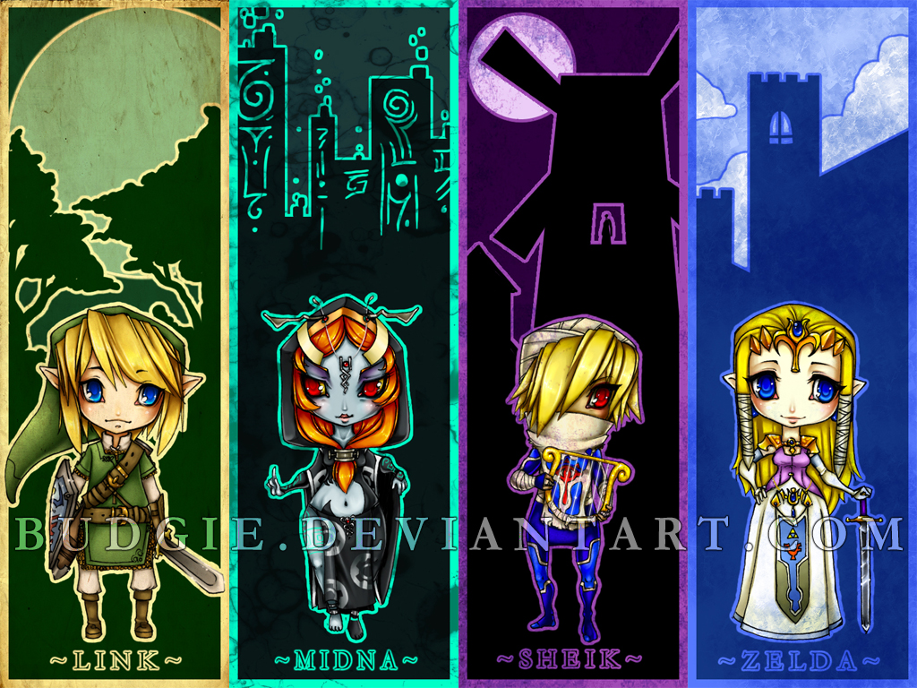 Coleccion de imagenes de Zelda. LoZ_Chibi_Bookmark_Wallpaper_by_budgie