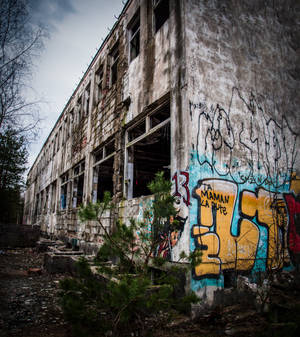Abandoned atomic headquaters Complex 7215