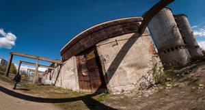 Old concrete plant