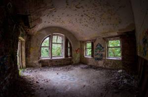 Abandoned psychiatric hospital Zofiowka