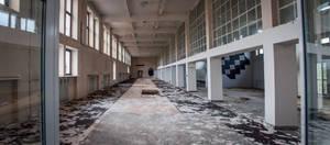 Abandoned radio broadcasting center Leszczynka