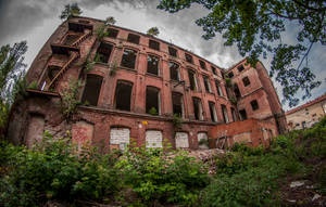 Grohman s Cotton Mill by Lantret