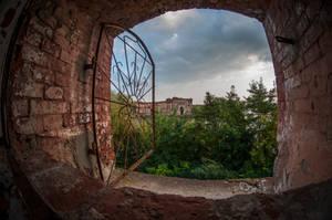 Modlin Fortress - Granary on the Narew 1844