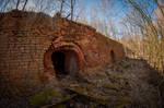 Brickworks in Popow near Lowicz by Lantret