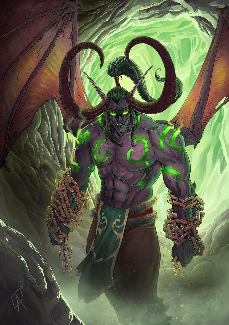 Illidan Stormrage by CallofTheDeep