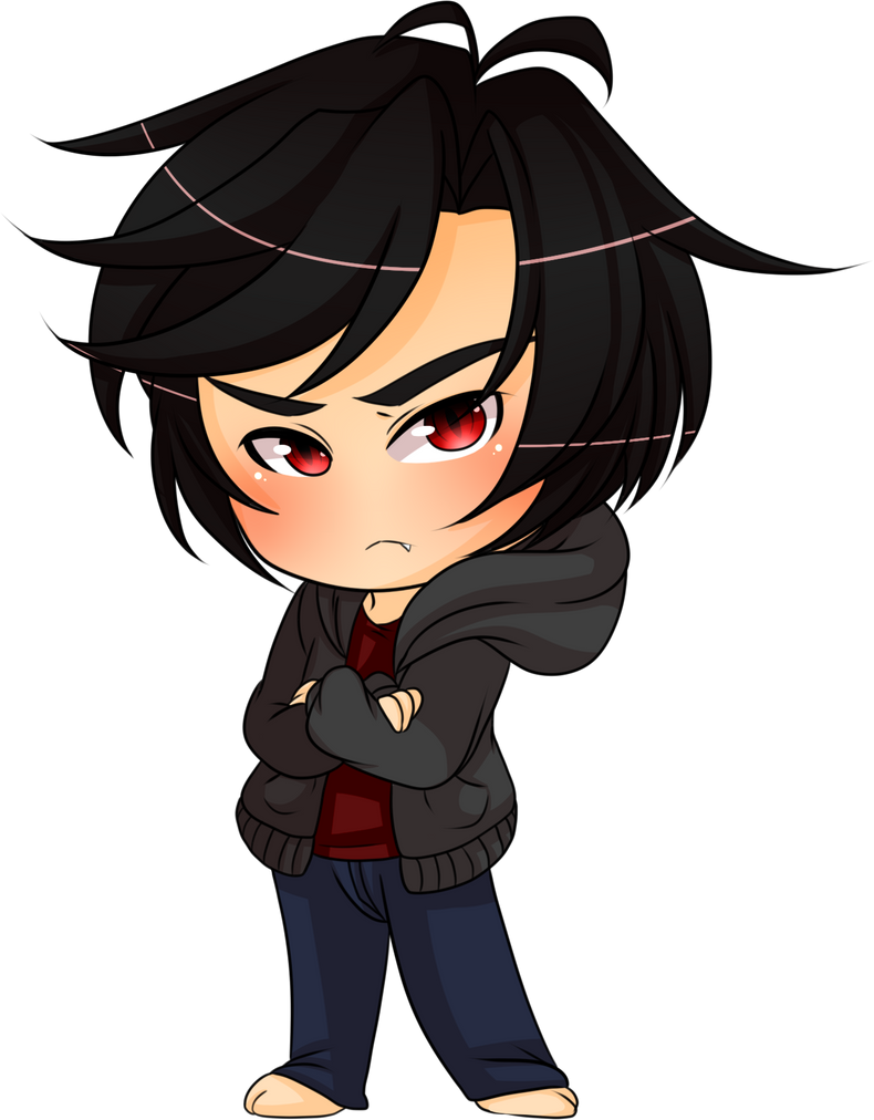 Cell-Shade Chibi by Egoistic-Cosmos