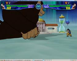 Ultimate Budokai AF - WIP Oozaru Great Ape Ohzaru