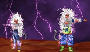 DBAF Super Saiyan V Fusion
