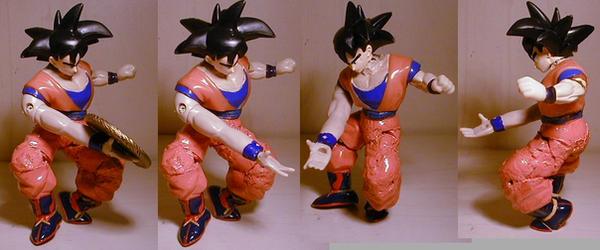 DragonballZ Kienzan Goku cstm by pgv