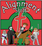 Alignment Shift: comic cover
