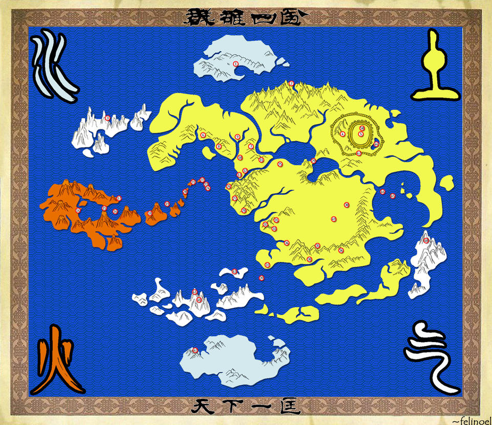 The World of the Avatar by felinoel