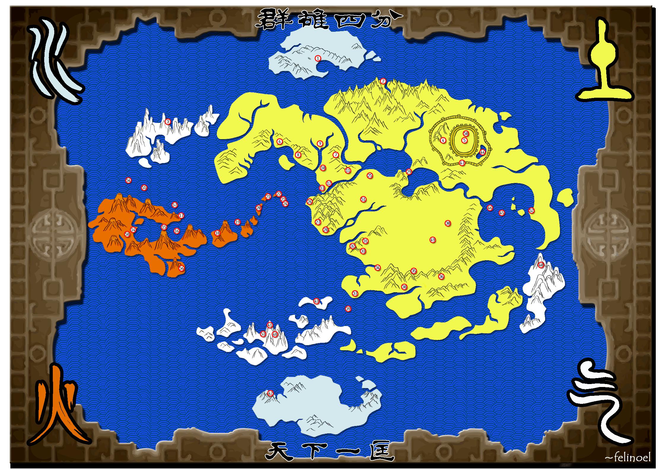Csuvetnám térképe