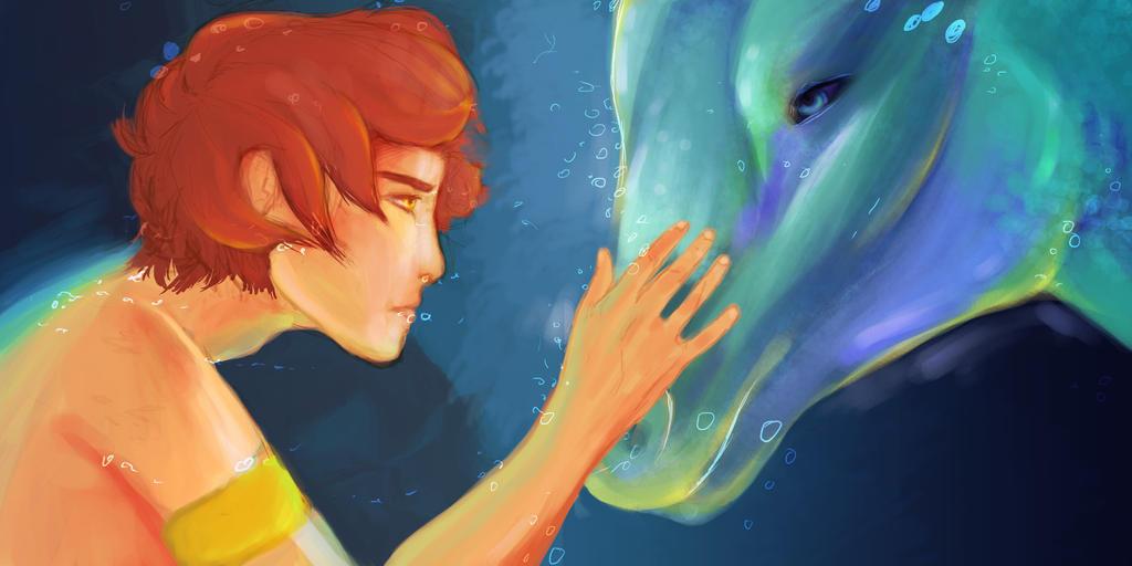 Ezekiel and Hippo by Sithaen