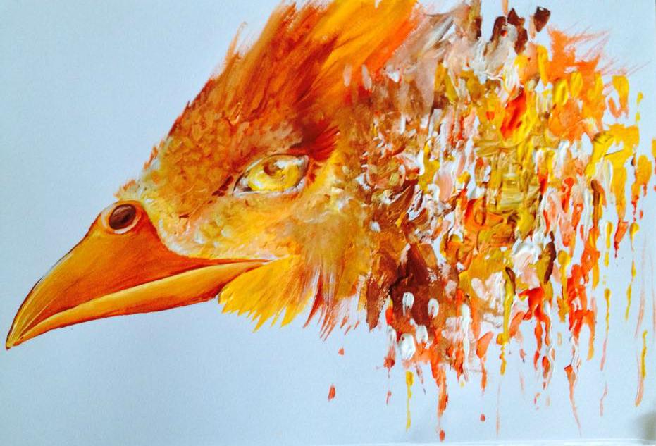 Painted Phoenix by Sithaen