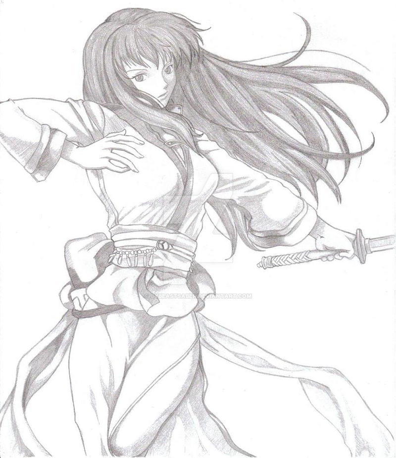 Fire Emblem 7- Karla by CyBeastSaber