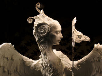 Venetian Harpy, detail by ForestRogers