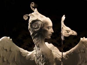 Venetian Harpy, detail