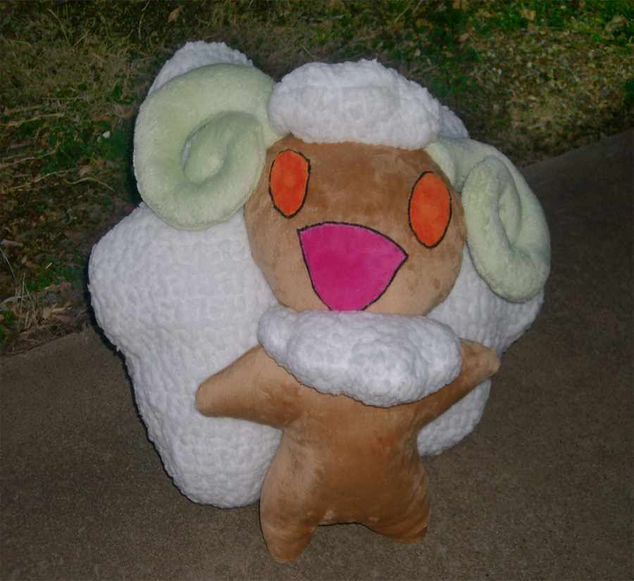 Whimsicott Plush by saiyamewome