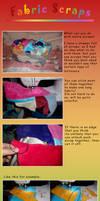 Fabric Scraps Idea