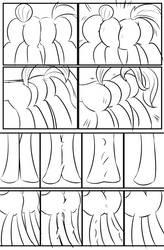 MLP: Bad Case of Sunburn sketch Final page 4 by bigonionbean