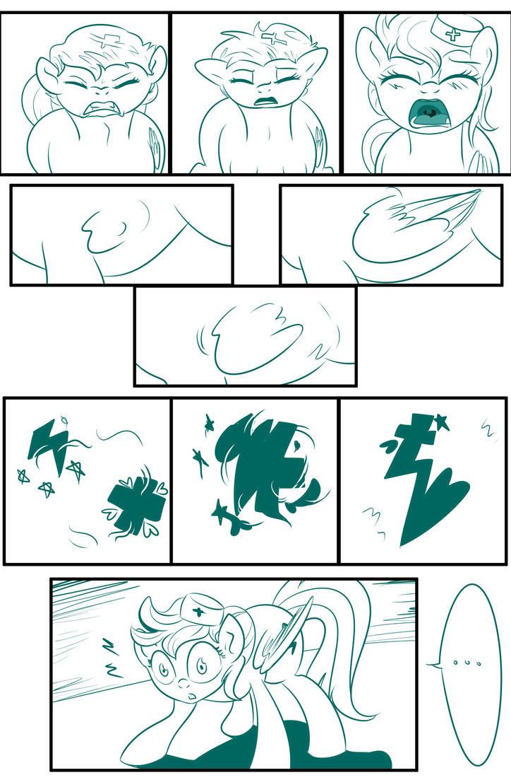 MLP: Bad Case of Sunburn sketch Final page 7 by bigonionbean