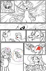 MLP: Bad Case of Sunburn sketch Final page 13 by bigonionbean