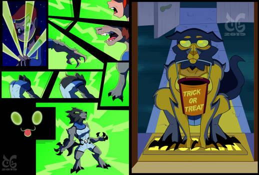 Gwen 10 Blitzwolfer TF Comic by toongrowner