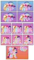 The Quad Fusion  by MLPConjoinment