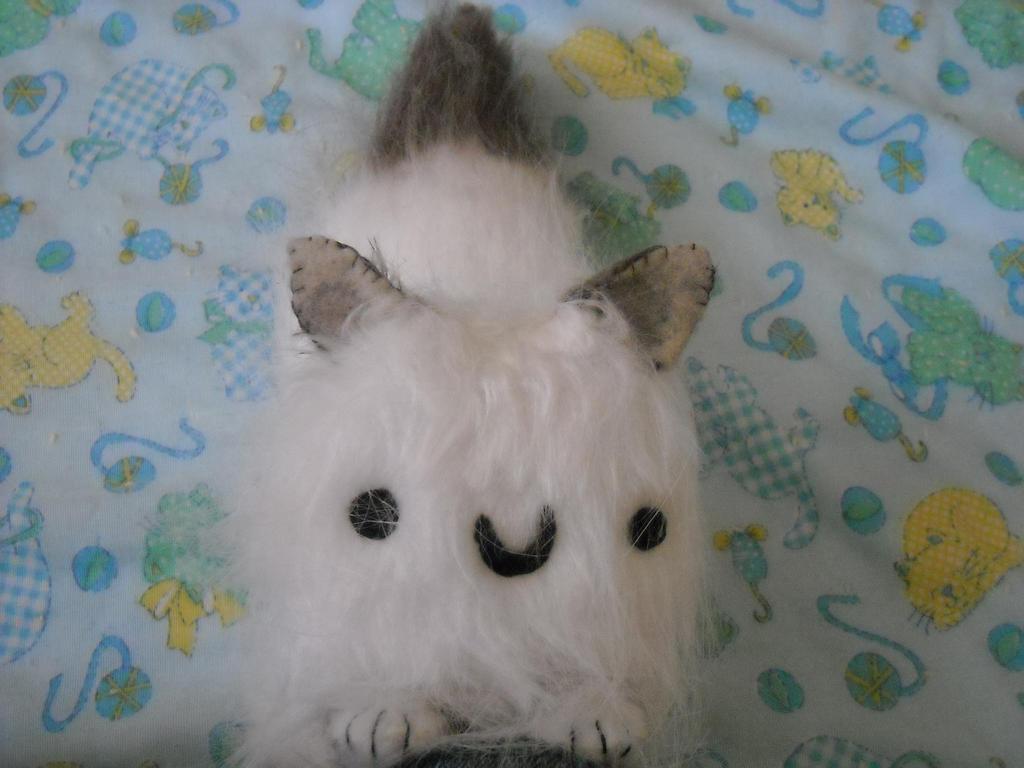 kitty cat by pakak-plushie