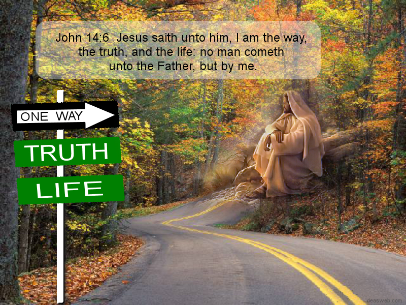 THE WAY, THE TRUTH, THE LIFE by HumbleLuv on DeviantArt