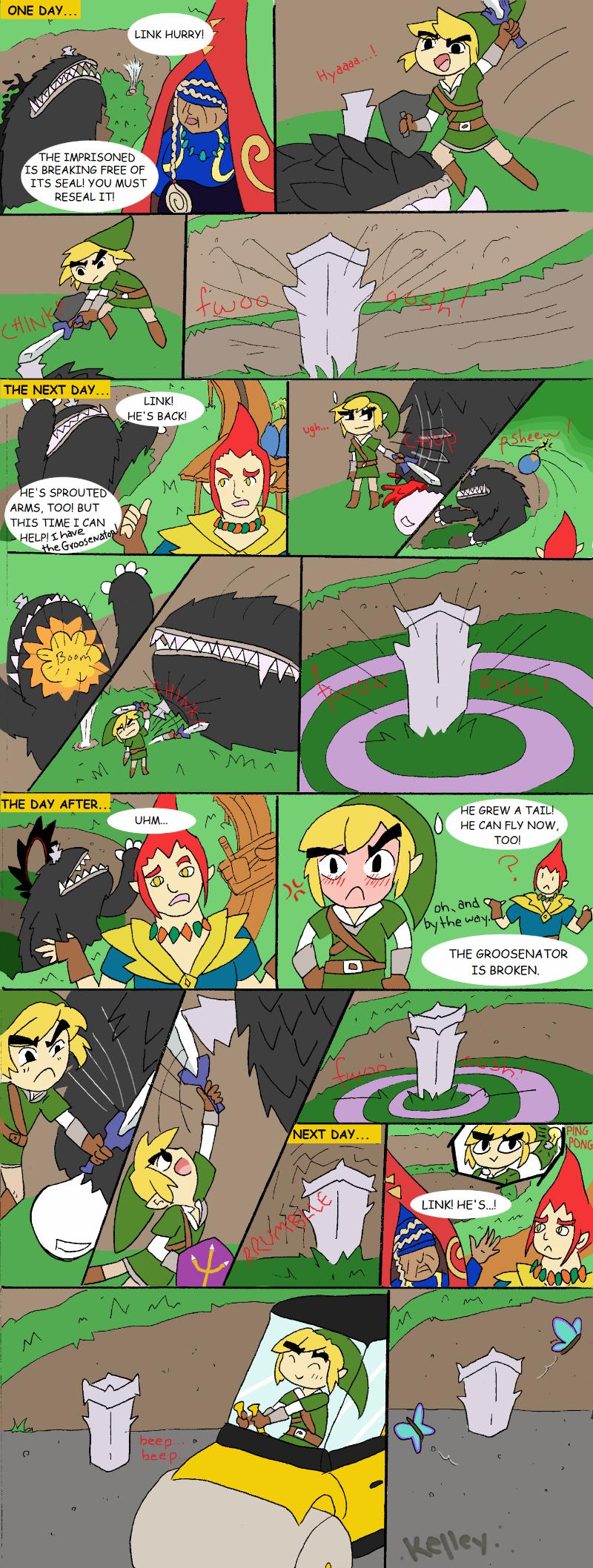 Skyward Sword The Imprisoned Kelleyko
