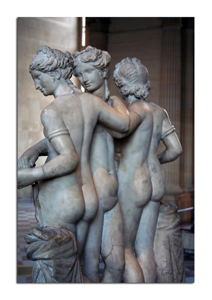 The Three Graces 3 by unclejuice