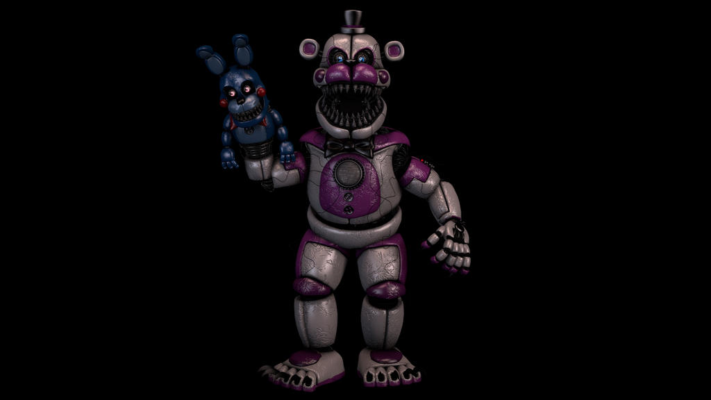 Mmd Funtime Freddy: Nightmare Funtime Freddy By Alessioed13 On DeviantArt